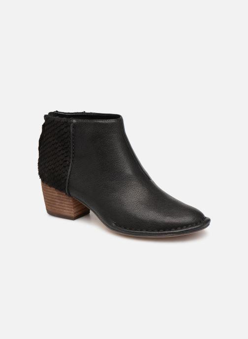 Bottines et boots Clarks SPICED RUBY Noir vue détail/paire
