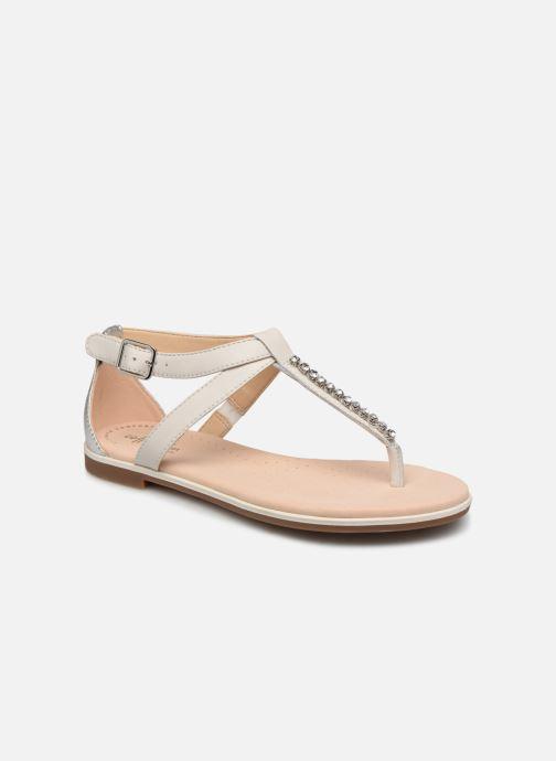 Sandaler Clarks Bay Poppy Sølv detaljeret billede af skoene