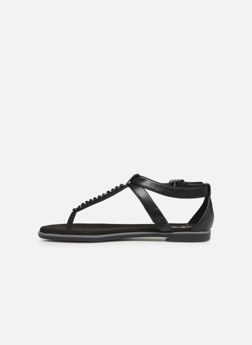 Sandales et nu-pieds Clarks Bay Poppy Noir vue face