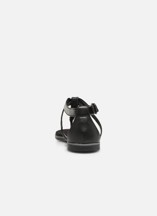 Sandales et nu-pieds Clarks Bay Poppy Noir vue droite