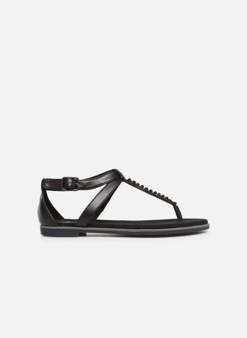 Sandales et nu-pieds Clarks Bay Poppy Noir vue derrière