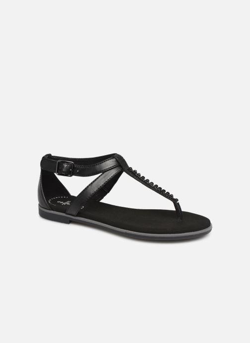 Sandales et nu-pieds Clarks Bay Poppy Noir vue détail/paire
