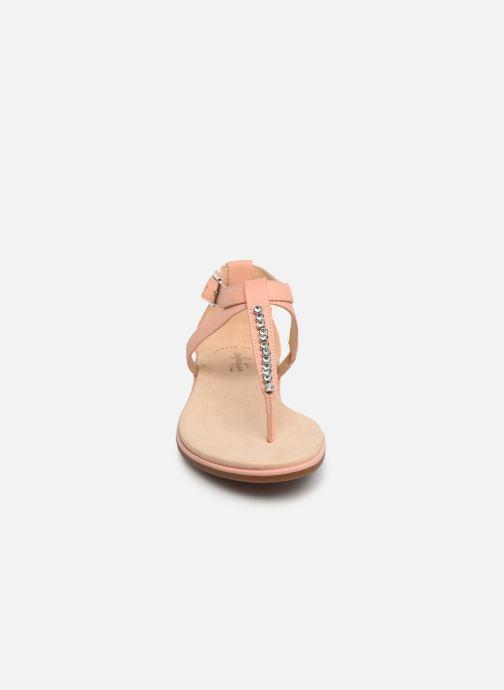 Sandales et nu-pieds Clarks Bay Poppy Rose vue portées chaussures