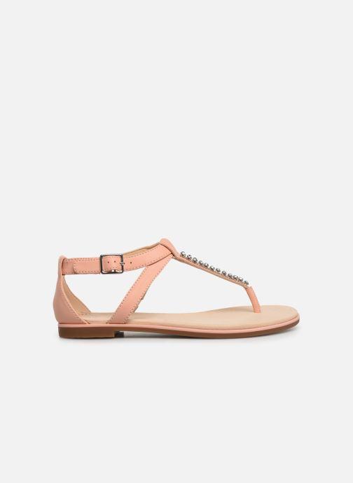 Sandales et nu-pieds Clarks Bay Poppy Rose vue derrière