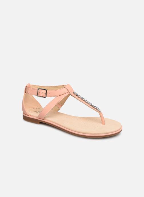 Sandales et nu-pieds Clarks Bay Poppy Rose vue détail/paire
