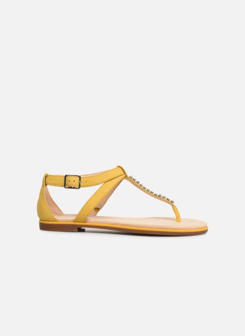 Sandali e scarpe aperte Clarks Bay Poppy Giallo immagine posteriore