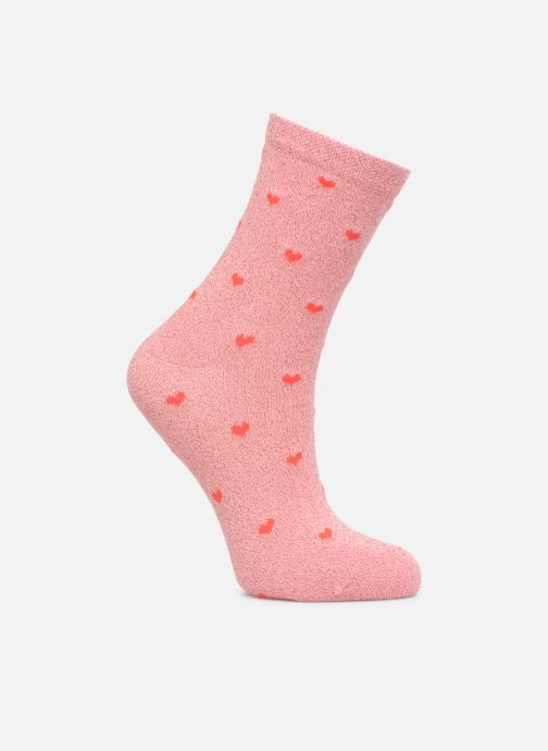 Sokken en panty's Pieces Chaussette Sebby Roze detail