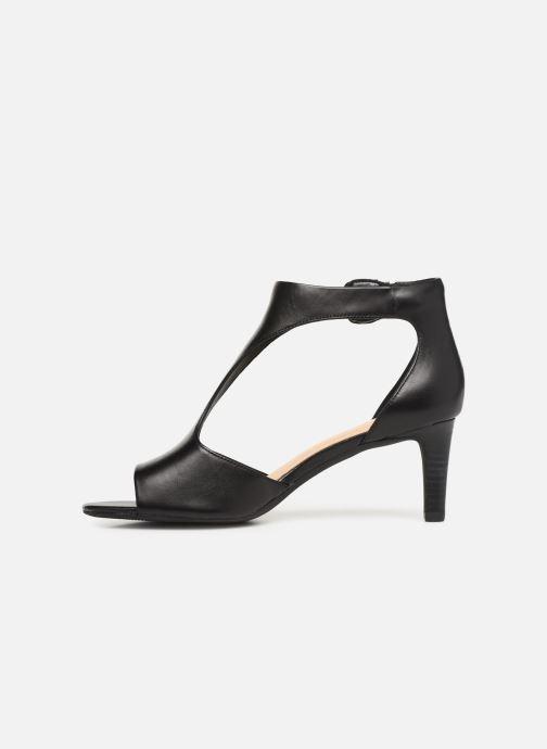 Sandales et nu-pieds Clarks LAURETI STAR Noir vue face
