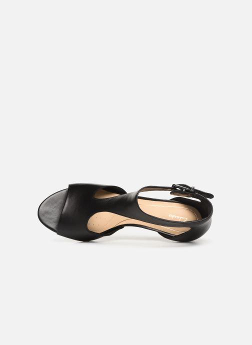 Sandales et nu-pieds Clarks LAURETI STAR Noir vue gauche