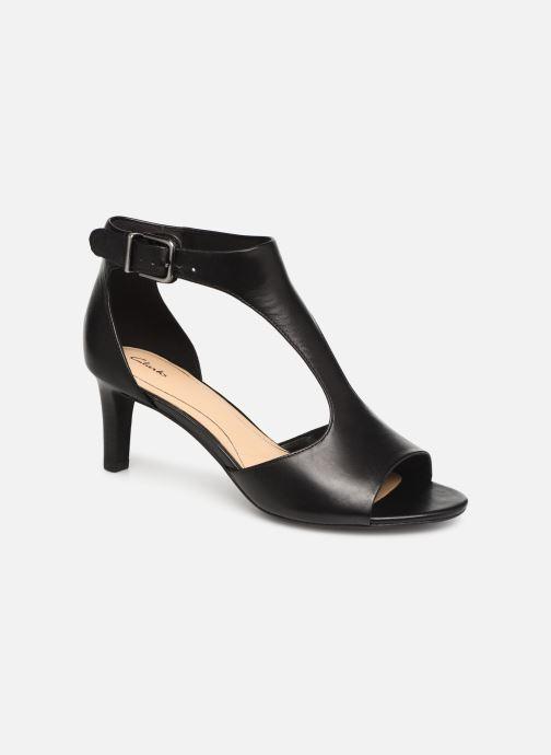 Sandaler Clarks LAURETI STAR Sort detaljeret billede af skoene