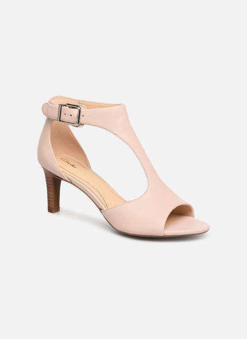 Sandales et nu-pieds Clarks LAURETI STAR Beige vue détail/paire