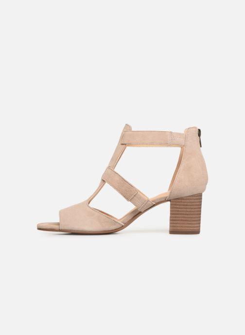 Sandales et nu-pieds Clarks DELORIA FAE Beige vue face