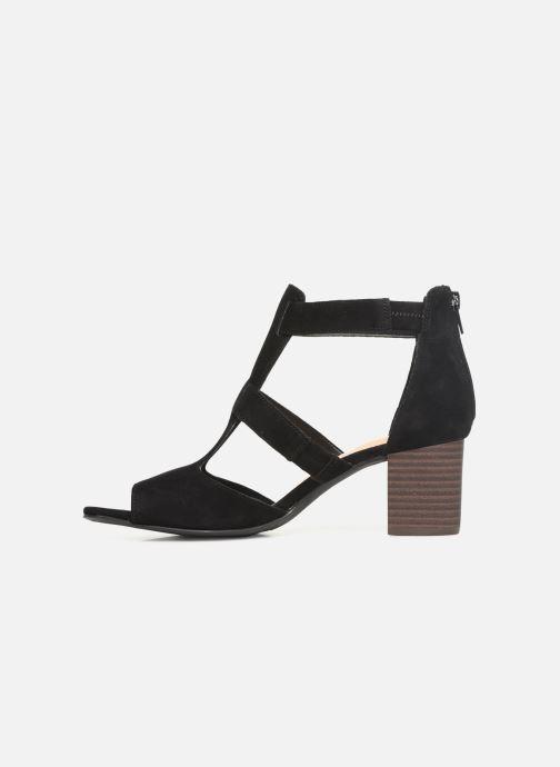 Sandales et nu-pieds Clarks DELORIA FAE Noir vue face