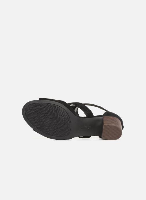 Sandales et nu-pieds Clarks DELORIA FAE Noir vue haut
