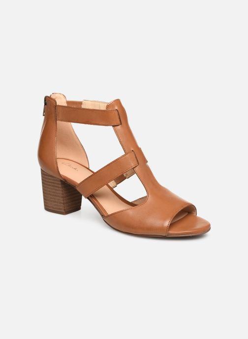 Sandales et nu-pieds Clarks DELORIA FAE Marron vue détail/paire