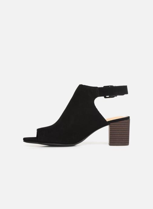Sandales et nu-pieds Clarks DELORIA GIA Noir vue face