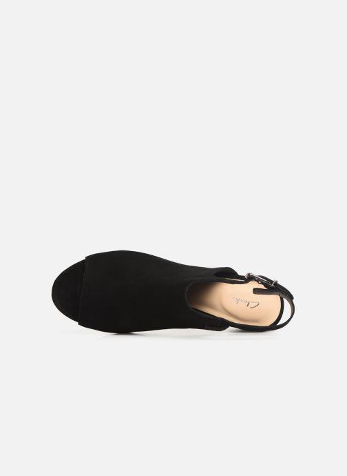 Sandales et nu-pieds Clarks DELORIA GIA Noir vue gauche