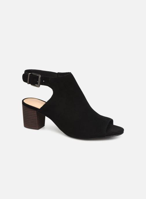Sandaler Clarks DELORIA GIA Sort detaljeret billede af skoene