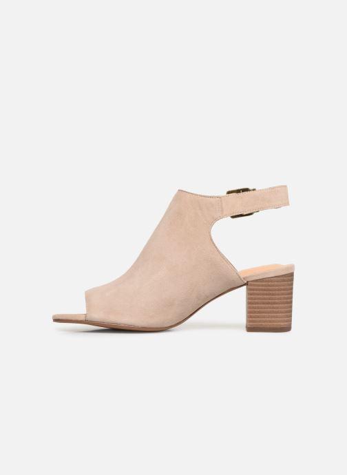 Sandales et nu-pieds Clarks DELORIA GIA Beige vue face
