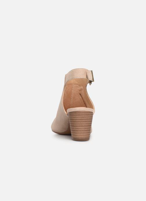 Sandales et nu-pieds Clarks DELORIA GIA Beige vue droite