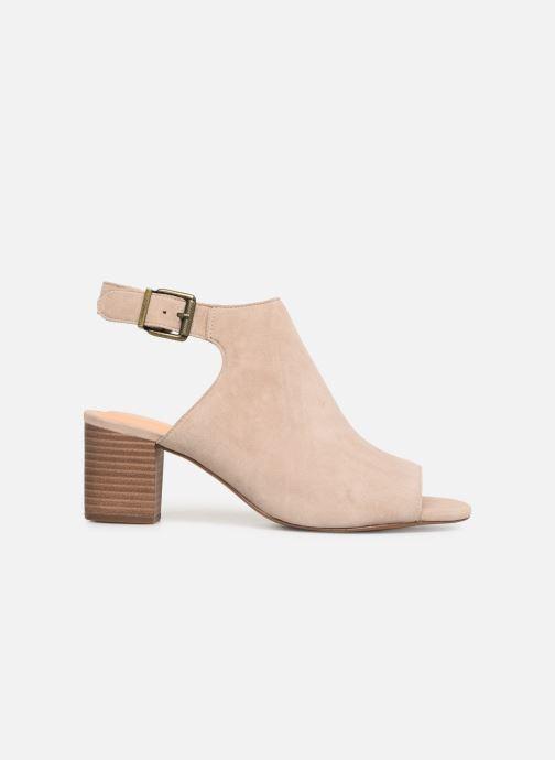 Sandales et nu-pieds Clarks DELORIA GIA Beige vue derrière