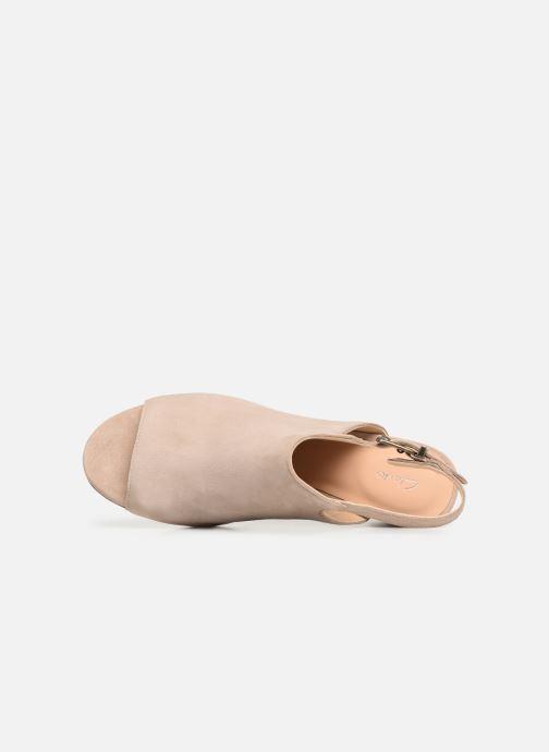 Sandales et nu-pieds Clarks DELORIA GIA Beige vue gauche