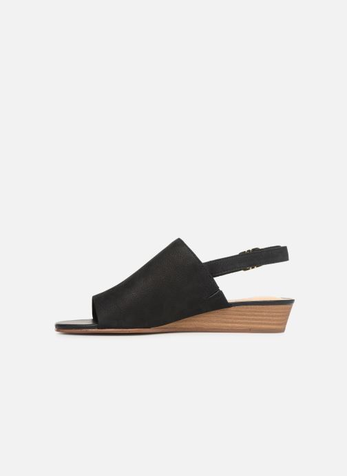 Sandals Clarks MENA LILY Black front view