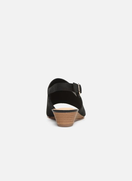 Sandals Clarks MENA LILY Black view from the right