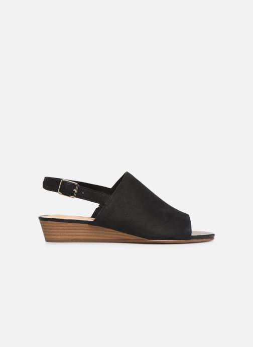 Sandales et nu-pieds Clarks MENA LILY Noir vue derrière