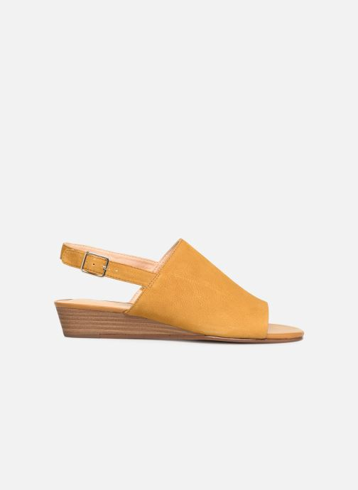 Sandals Clarks MENA LILY Yellow back view