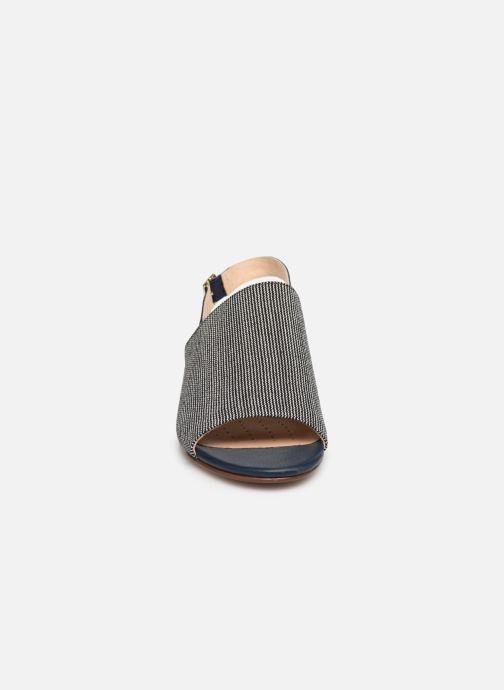 Sandalen Clarks MENA LILY blau schuhe getragen