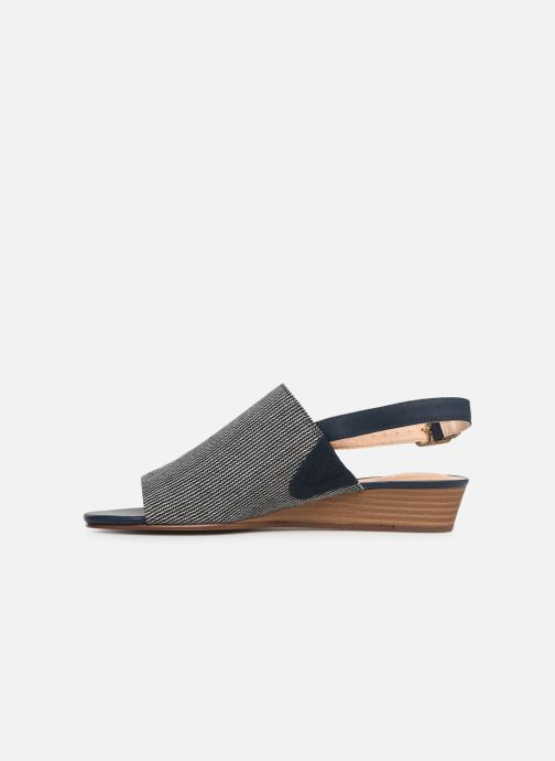 Sandals Clarks MENA LILY Blue front view