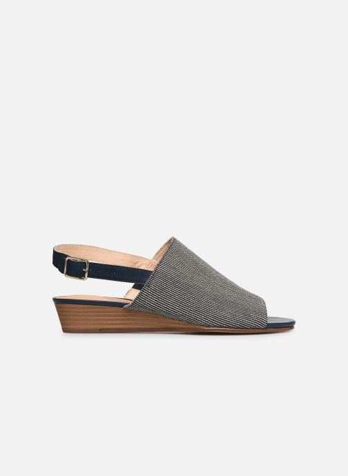 Sandals Clarks MENA LILY Blue back view