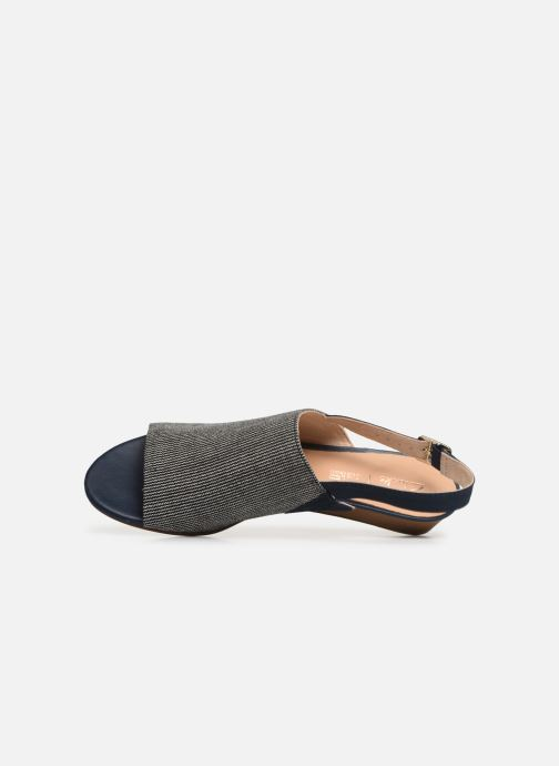 Sandales et nu-pieds Clarks MENA LILY Bleu vue gauche