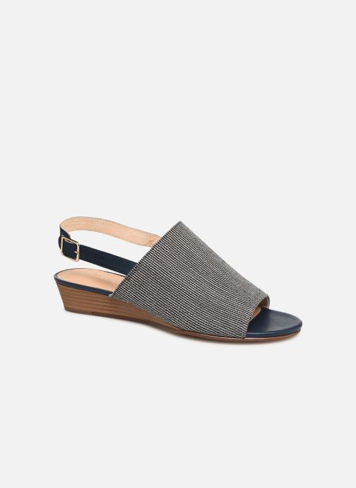 Sandals Clarks MENA LILY Blue detailed view/ Pair view