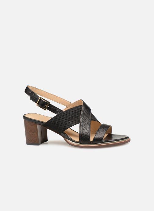 Sandales et nu-pieds Clarks ELLIS TILDA Noir vue derrière