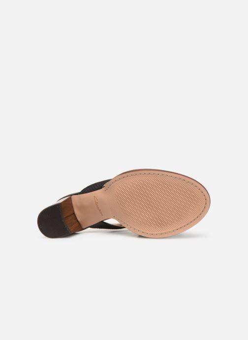 Sandales et nu-pieds Clarks ELLIS TILDA Noir vue haut