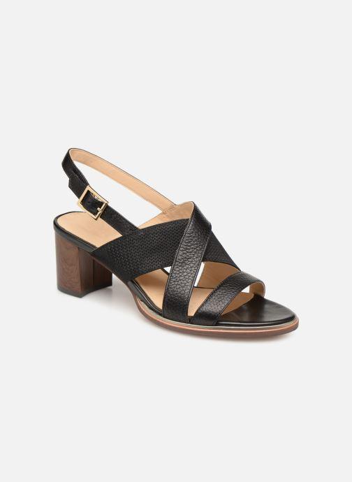 Sandales et nu-pieds Clarks ELLIS TILDA Noir vue détail/paire