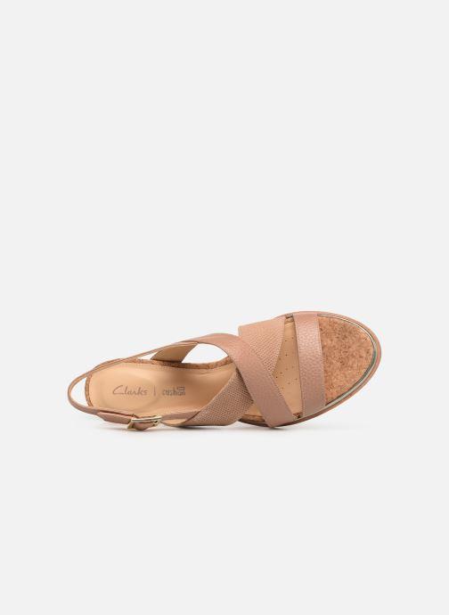 Leather Sandales Clarks Nu pieds Et Tilda Praline Ellis rxdQsCth