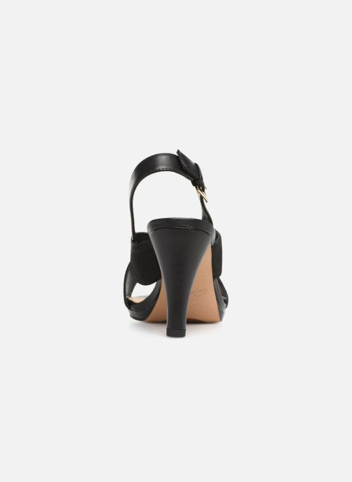 Sandales et nu-pieds Clarks DALIA LOTUS Noir vue droite