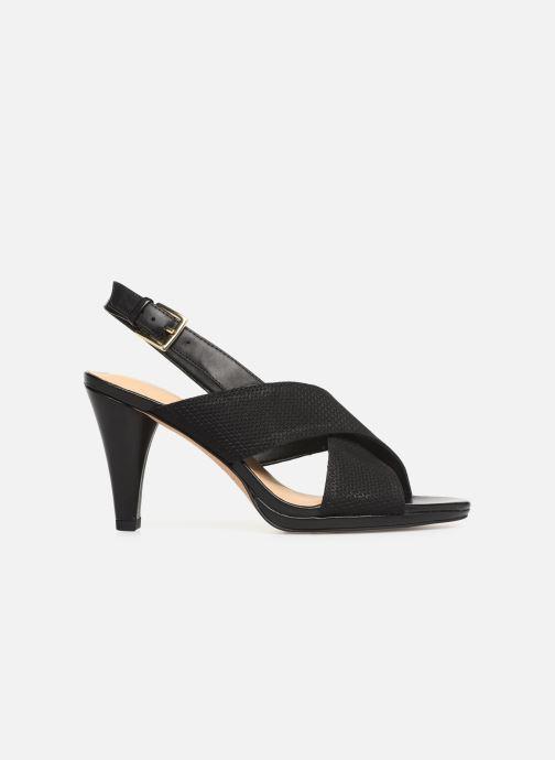 Sandales et nu-pieds Clarks DALIA LOTUS Noir vue derrière