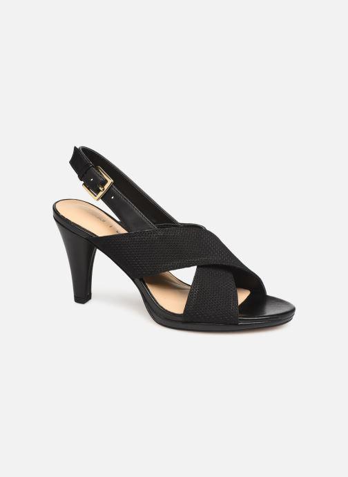 Sandaler Clarks DALIA LOTUS Sort detaljeret billede af skoene