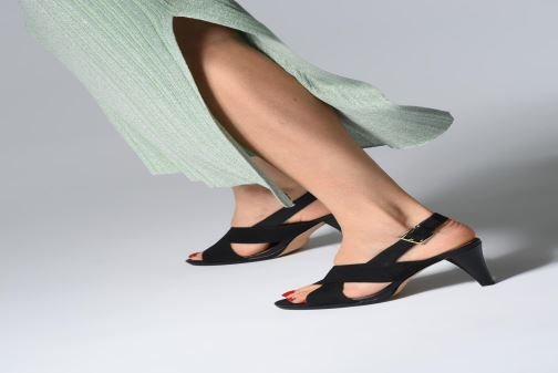 Sandales et nu-pieds Clarks DALIA LOTUS Or et bronze vue bas / vue portée sac