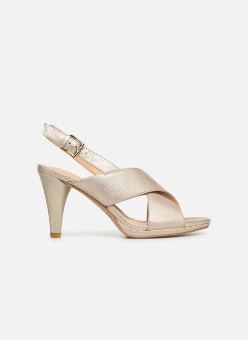 Sandales et nu-pieds Clarks DALIA LOTUS Or et bronze vue derrière