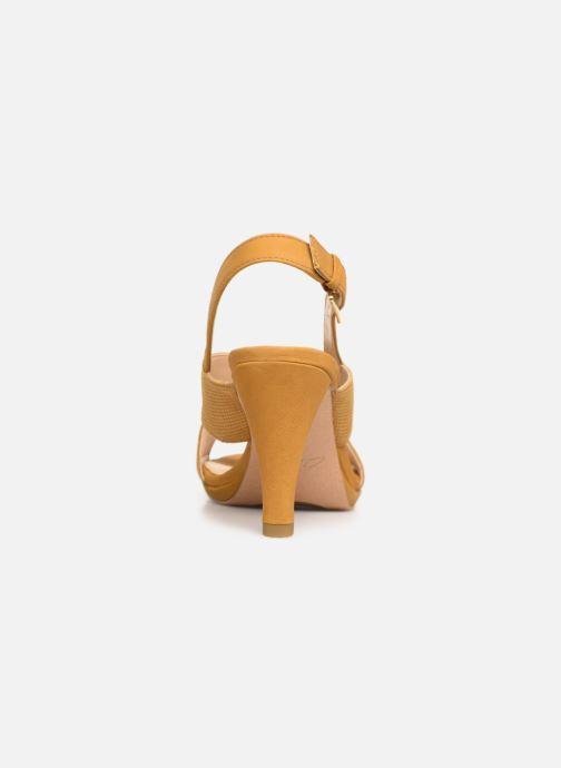 Sandali e scarpe aperte Clarks DALIA LOTUS Giallo immagine destra