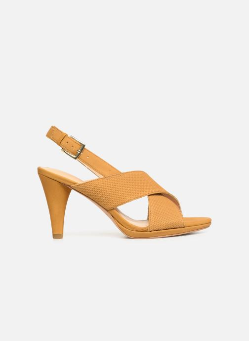 Sandals Clarks DALIA LOTUS Yellow back view
