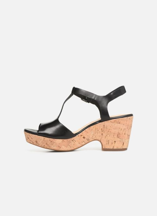 Sandales et nu-pieds Clarks MARITSA CARIE Noir vue face