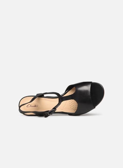Sandales et nu-pieds Clarks MARITSA CARIE Noir vue gauche