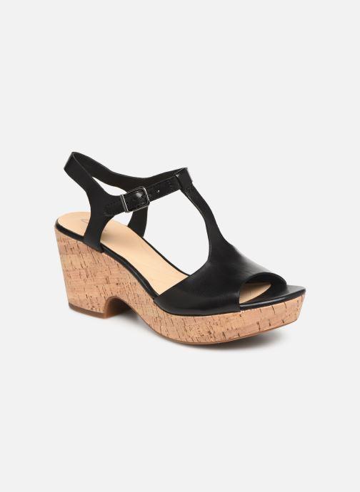 Sandales et nu-pieds Clarks MARITSA CARIE Noir vue détail/paire