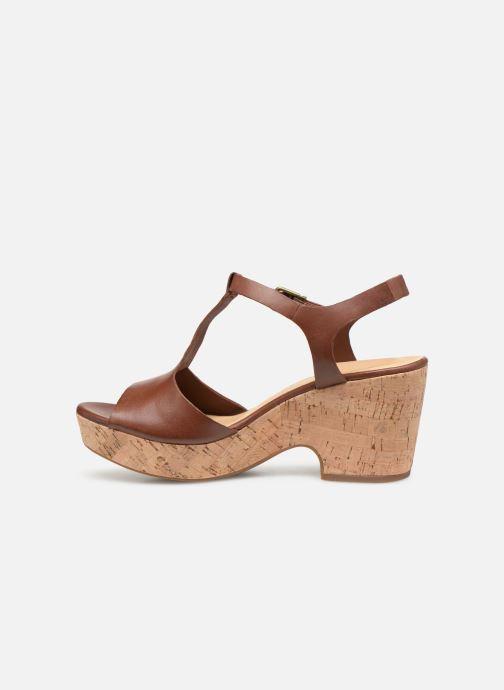 Sandales et nu-pieds Clarks MARITSA CARIE Marron vue face